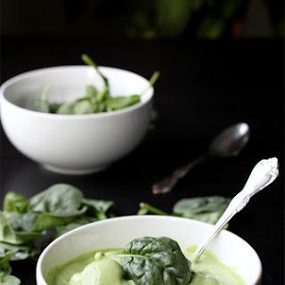 Spinach Frozen Yogurt.