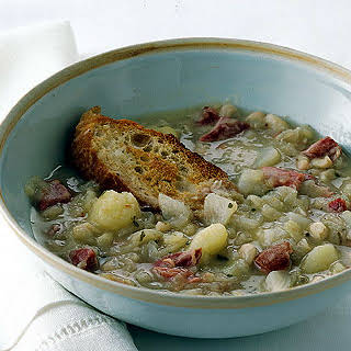 Cabbage and White Bean Soup.