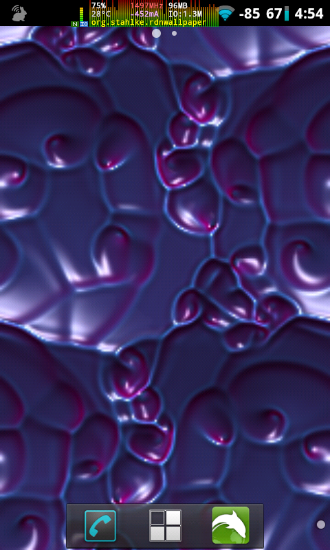 Reaction Diffusion Wallpaper- screenshot