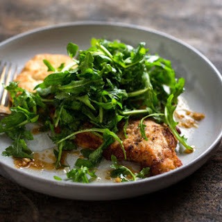 Soy-Ginger Chicken With Asian Greens or Arugula