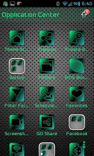 GO SMS PRO AIRED LEATHER THEME - screenshot thumbnail