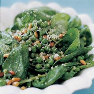 Pesto Pea Salad.