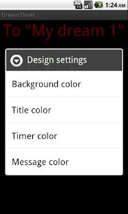 DreamTimer- screenshot thumbnail