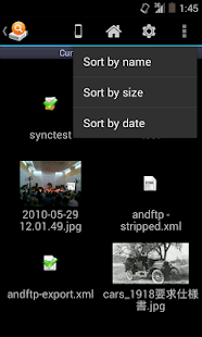 AndExplorerPro (file manager) - screenshot thumbnail