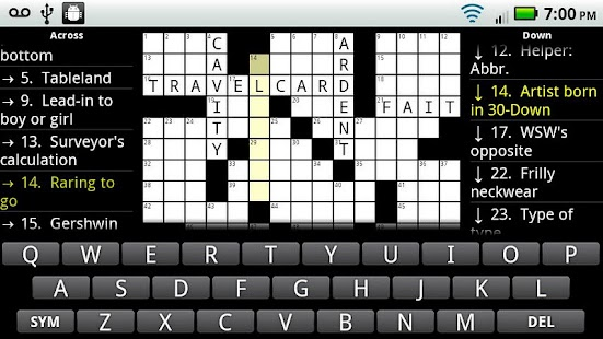 Crosswords Plus- screenshot thumbnail