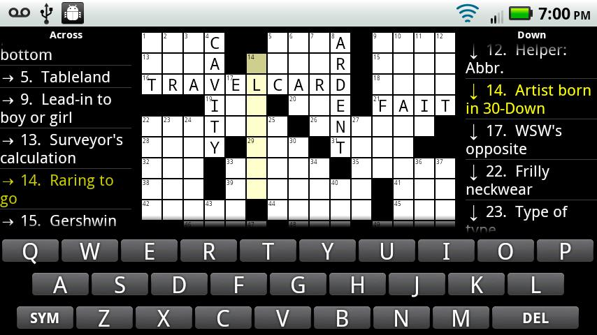 Crosswords Plus - screenshot