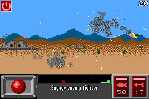 Super Pixel Jet Fighter - screenshot
