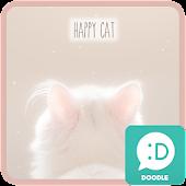 happy cat 카카오톡 테마