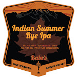 Babes Indian Summer Rye IPA