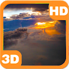 Airplane Clouds Flight HD icon