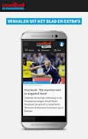 Screenshot of Voetbal International