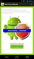 Screenshot of Total Antivirus Defender FREE