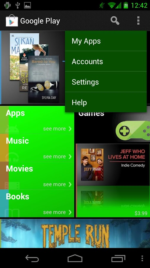 Green Blast CM9/AOKP/GMY Theme - screenshot