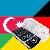 Azerbaijani German Dictionary