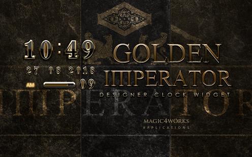 digital clock widget Imperator