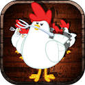 Finger Basketball Hoop Chicken icon