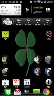 FourLeaf Clover Live Wallpaper - screenshot thumbnail