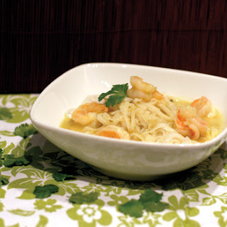 Green Curry Shrimp with Noodles
