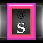 KB SKIN - Hot Pink Outline