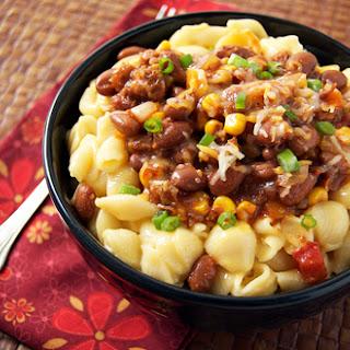 Chili Mac 'N' Cheese.