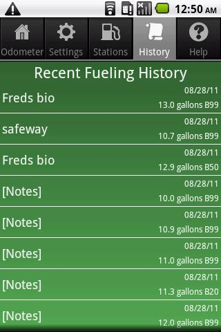 Biodiesel Buddy- screenshot