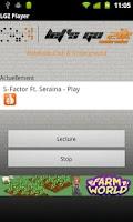 Screenshot of LGZ Player
