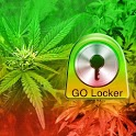 GO Locker Theme Rasta Ganja icon