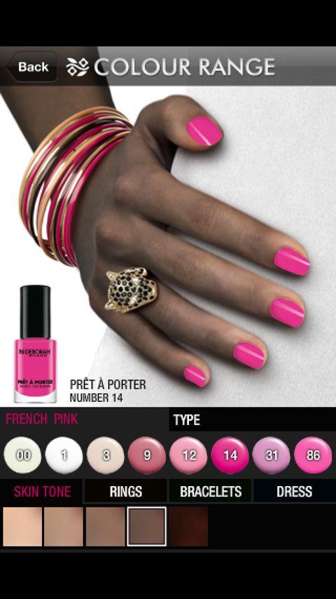 DeborahNails- screenshot