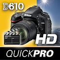 Nikon D610 Shooting Video icon