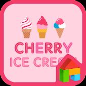 cherry ice cream dodole theme