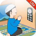 Prayer Times Qibla + Zikr Lite icon
