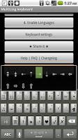 Screenshot of MultiLing Keyboard