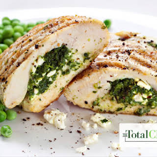 Total Choice Spinach Stuffed Chicken.