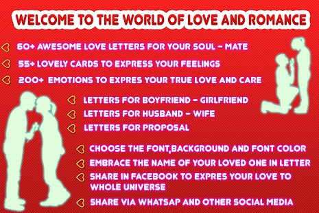 Romantic love letters android apps on google play romantic love letters screenshot thumbnail spiritdancerdesigns Images