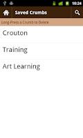 Screenshot of Crouton