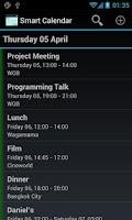 Screenshot of Smart Calendar (Beta)
