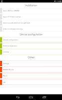 Screenshot of Wireless Installer App