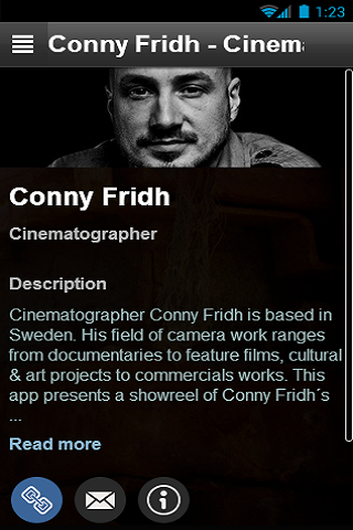 Conny Fridh Cinematographer