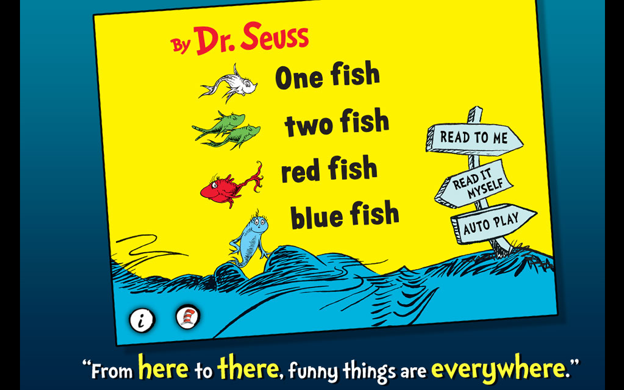 One Fish Two Fish - Dr. Seuss - screenshot