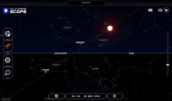 Screenshot of Solar System Scope