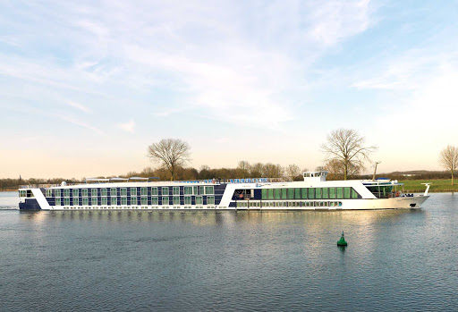 AmaLyra-Exterior - Sail the smooth waterways of Europe aboard the luxury river cruise ship AmaLyra.