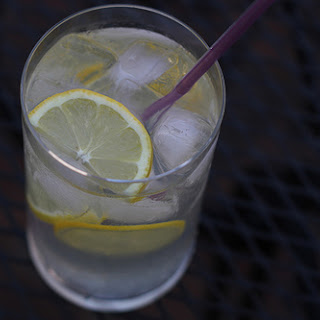 Vodka Lemonade Drink.