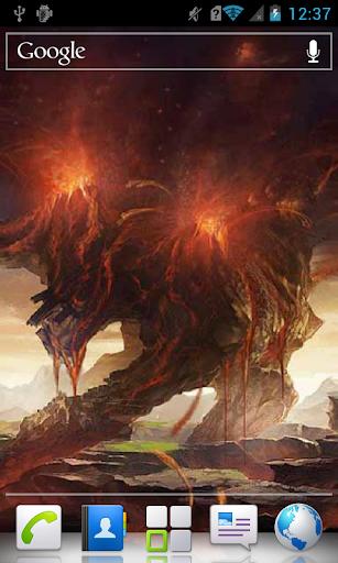 Big Volcano a live