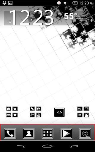 Linear Icon Pack Apex Nova ADW