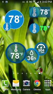 Thermometer Galaxy S4 Free- screenshot thumbnail