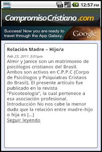 Compromiso Cristiano - screenshot thumbnail