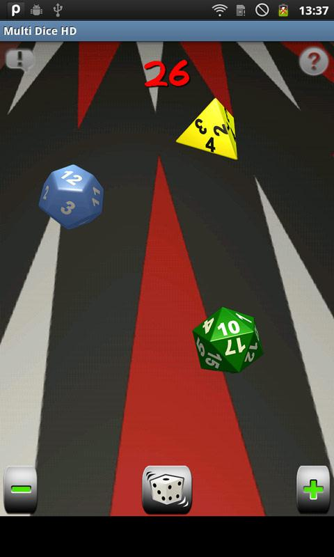 Multi Dice HD- screenshot