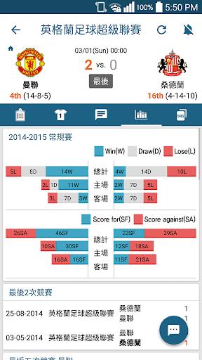 玩運動App|賽事實況中心 LiveScore免費|APP試玩