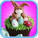 Cupcakes Easter logo