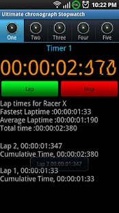 Ultimate Chronograph Stopwatch - screenshot thumbnail